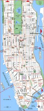 manhattan on map road map of manhattan manhattan new york aaccessmaps