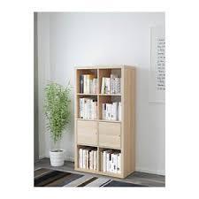libreria kallax ikea kallax libreria scaffale con ante effetto rovere mordente