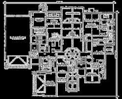 craftsman style house plan 5 beds 5 00 baths 5022 sq ft plan 5 443