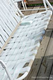 Outdoor Furniture Webbing by Garden Swing Replace Ripped Canvas With Lawn Furniture Re Webbing