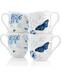 special lenox dinnerware set of 4 butterfly meadow toile