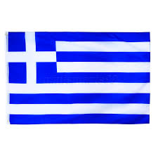 Poly Flag 3x5ft Blue White Greece Flag Greek Hellenic State Country Banner