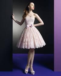 light pink knee length dress nuestros favoritos 10 vestidos de novia cortos para una boda civil