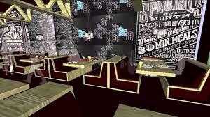 Pizza Restaurant Interior Design Kelly U0027s Pizza Pub Restaurant Design Concept Youtube