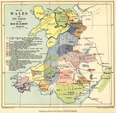Map Of Wales England by The Project Gutenberg Ebook Of The History Of England By T F