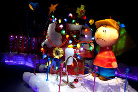 charlie brown christmas lights 2016 ice at gaylord palms to feature peanuts kim and carrie