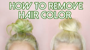 How Long To Wash Hair After Color - how to remove hair color stripping for stained hair blue green
