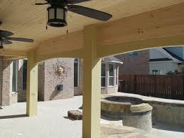 Covered Porch Ceiling Material by Covered Patios