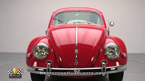 volkswagen old red 134106 1956 volkswagen type 1 beetle youtube