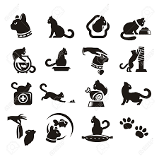 cat silhouette stock photos royalty free cat silhouette images