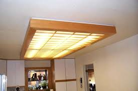 homemade fluorescent light covers awesome fluorescent light covers for kitchen and drop ceiling ideas