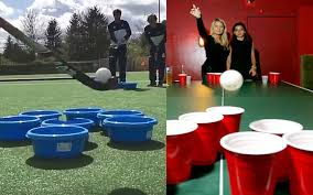 Hockey Beer Pong Table Beer Pong The Hockey Way How Comes Nobody Thought Of This Before