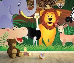 Animals Noahs Ark Nursery Wall Murals By Homewallmurals - Kids room wallpaper murals