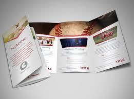 sports photography brochure template mycreativeshop
