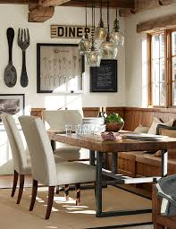 Rustic Dining Room Table Sliding Barn Door With Glass Perfect For If We End Up With A