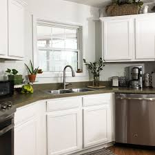 can you paint your kitchen cabinets without removing them how to paint kitchen cabinets without sanding lz cathcart