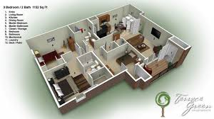 3 bedroom 2 bath house plans 3 bedroom home design plans best 20 one bedroom house plans ideas