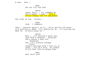 The Dining Room Play Script The Leftovers Finale An Exclusive Behind The Scenes Look