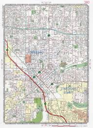 Highway Map Of Usa by Modesto City Road Map