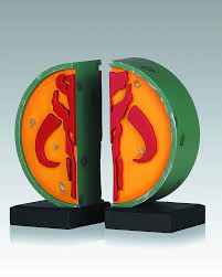 buy toys and models star wars bookends mandalorian logo