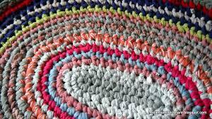 Crochet Oval Rag Rug Pattern Crochet Oval Rug Rugs Ideas