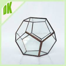 Glass Bowl Vases Block Crystal Round Glass Vase Round Fish Bowl Design Thick Lead