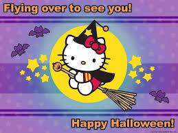 halloween cat background deviantart hello kitty halloween desktop wallpaper wallpapersafari