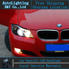 bmw e90 headlights car styling led head lamp for bmw e90 headlights 318 320 325 led