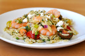 shrimp and orzo salad hungry eyes