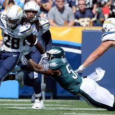 chargers fall to 0 4 with 26 24 home loss to philadelphia eagles