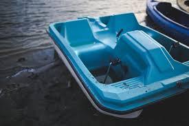 free stock photo of blue sky boat