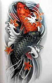 two koi fish need red symbolizes being a mother and having