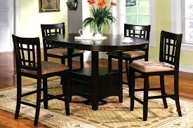 bar height dining room sets round counter height dining sets bar height dining table