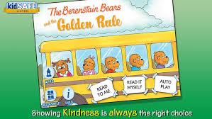 berenstien bears the berenstain bears and the golden rule on the app store