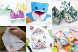 10 creative cootie catchers