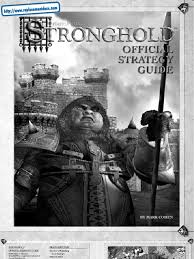 stronghold official strategy guide pc castle armour