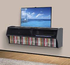 Wall Mount Tv Stand With Shelves by Wall Mounted Dvd Storage Full Image For Collect This Ideawall