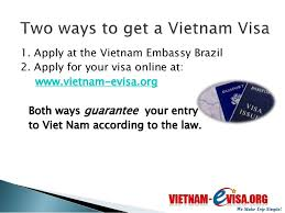 how to get a vietnam visa in brazil vietnam evisa org discount 20 u2026