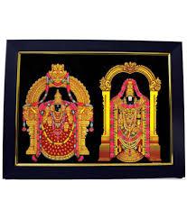 lord venkateswara photo frames with lights and music 101temples multicolour wooden lord tirumala tirupati balaji photo
