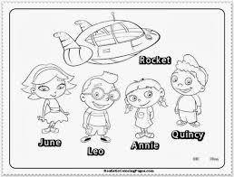 Disney Halloween Printable Coloring Pages by Little Einsteins Coloring Pages Coloring Page