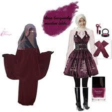 Muslim Halloween Costume Deep Burgundy Muslim Polyvore