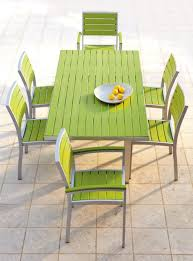 polywood dining recycled plastic outdoor furniture decorate