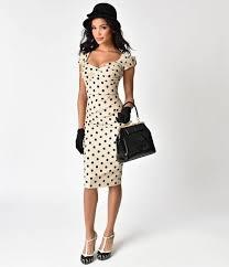stop staring stop staring 1940s style black polka dot billion dollar