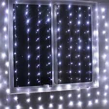 battery operated curtain string lights 300 led
