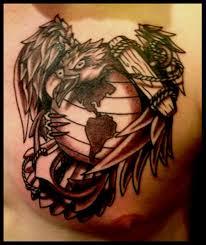 eagle globe and anchor tattoo cloud tattoos pinterest anchor