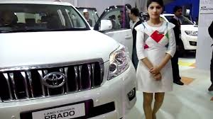 lexus suv for sale in delhi new toyota land cruiser prado at auto expo 2012 new delhi india