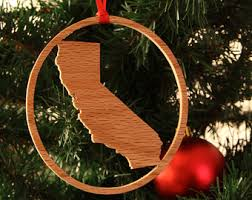 wooden state ornaments ornaments wooden