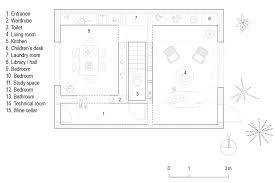 Industrial Floor Plan Studio Maks Builds Concrete House Filled With Space Saving Solutions