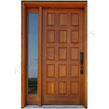 panelled doors designs modern solid wood door design of solid