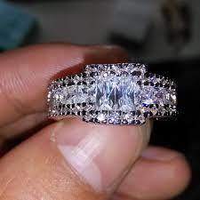 qvc wedding bands diamonique engagement rings qvc 44 engagement rings